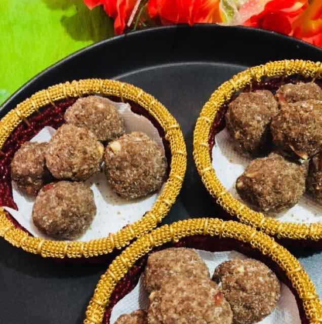 How to make ragi laddu