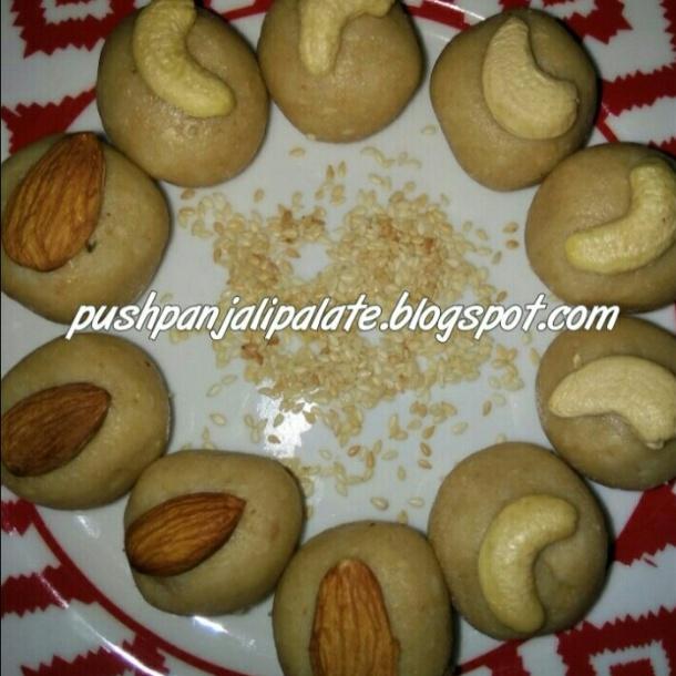 How to make Til Mawa laddos