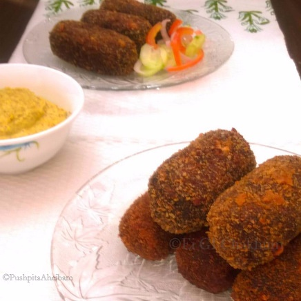 Photo of Vegetable Chop (Bengali Styled Vegetable Croquettes) by Pushpita Aheibam at BetterButter