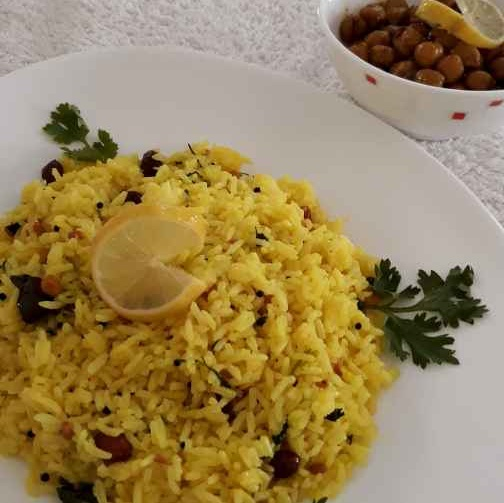 Photo of Traditional Lemon Rice by Pv Iyer at BetterButter