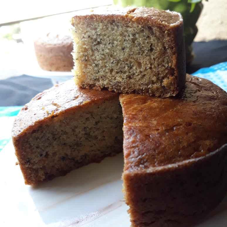 How to make Eggless whole wheat Banana cake