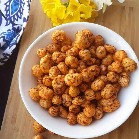 Photo of Peri Peri Makhanas | healthy snacking for this winter by Pv Iyer at BetterButter