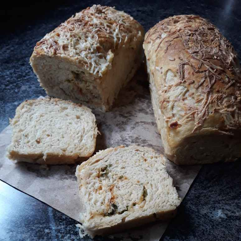 Photo of Peri Peri N Cheese Wheat Loaf by Pv Iyer at BetterButter