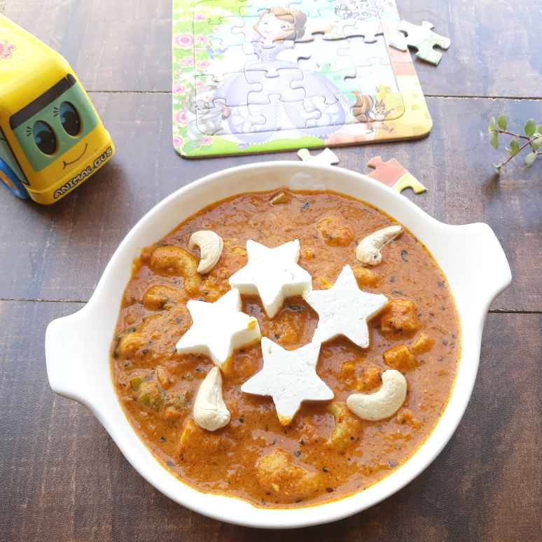 Photo of Cashew N Cheese Butter Masala Curry by Pv Iyer at BetterButter
