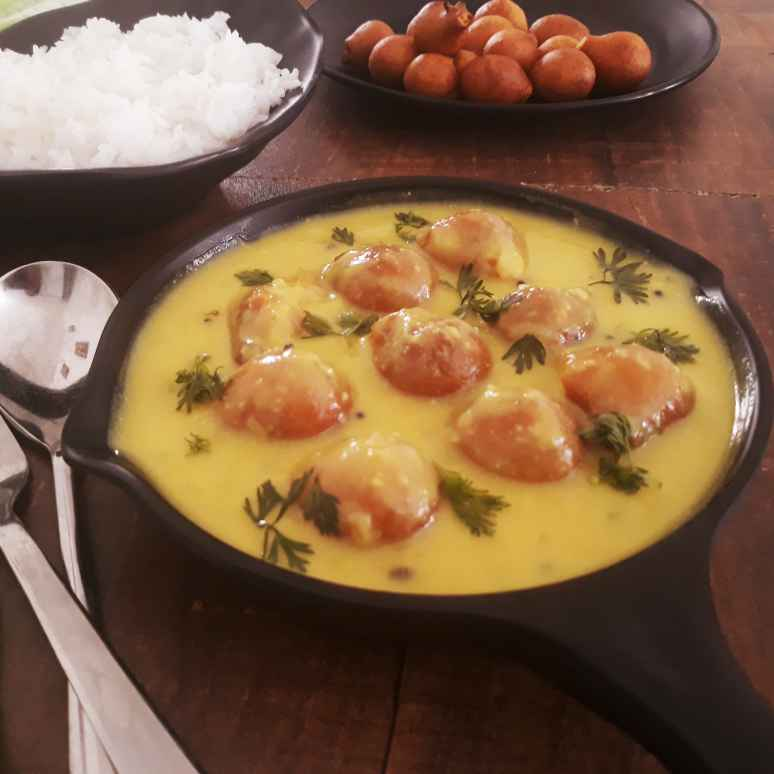 Photo of Quick and scrumptious Kadhi Pakore by Pv Iyer at BetterButter