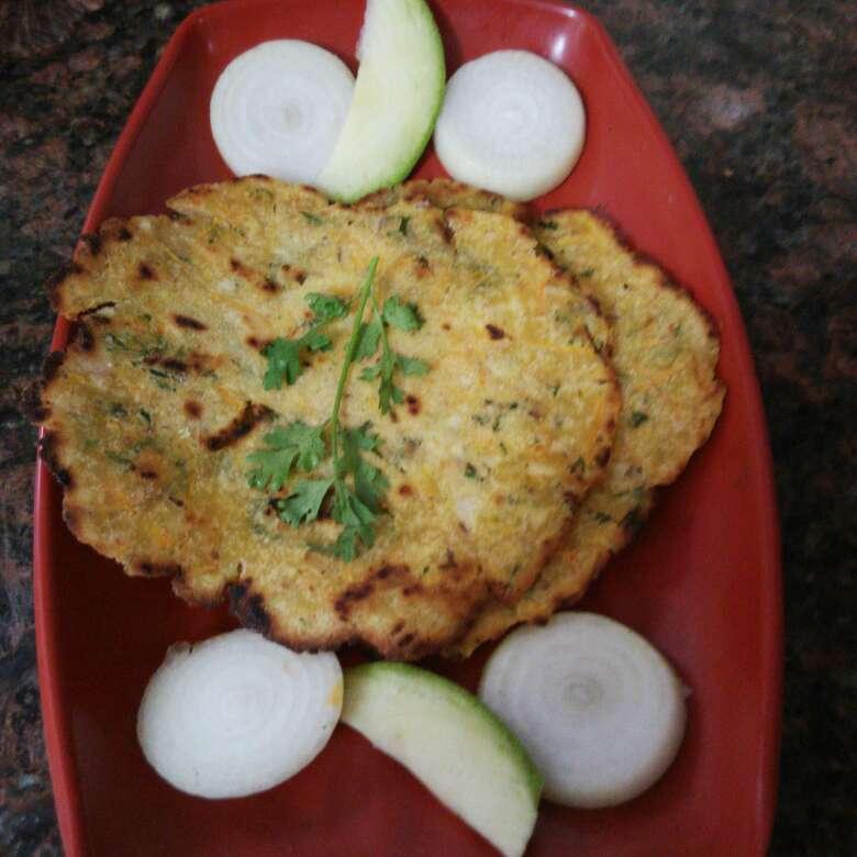 Photo of Rice raw mango roti by R.Anandi Anand at BetterButter
