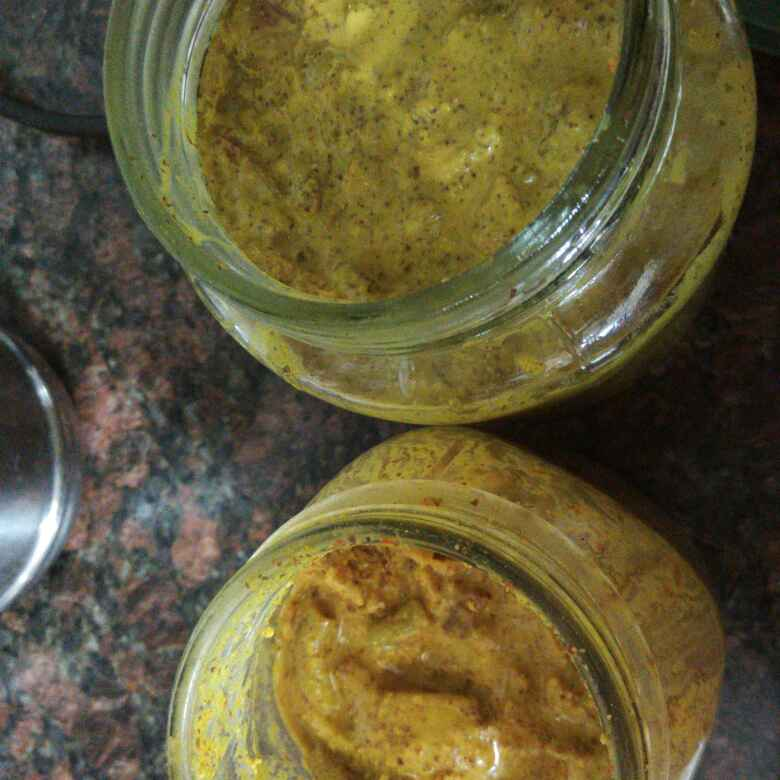 How to make Mahali Pickle  (Sarasaparilla pickle)