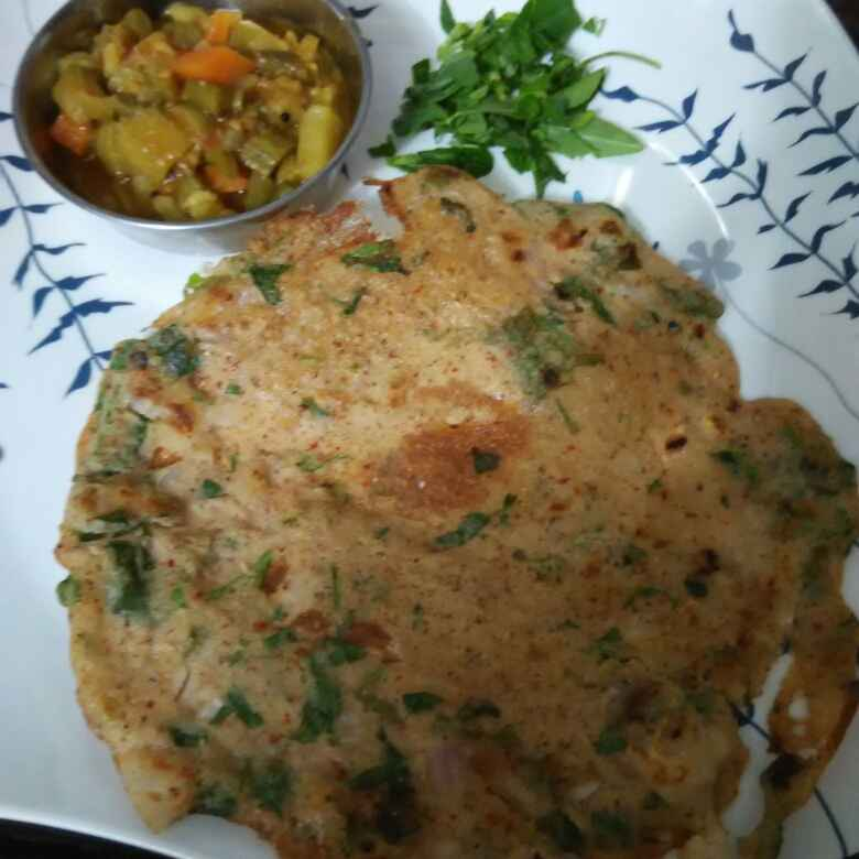 How to make Dal Methi Dosa