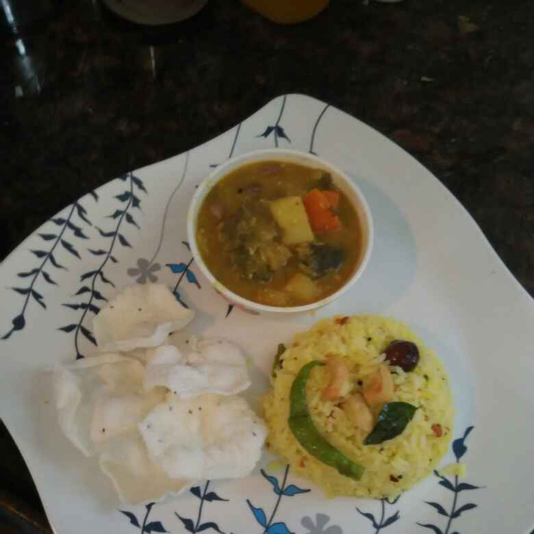 Photo of Mixed Vegetable Puli Kootu by R.Anandi Anand at BetterButter