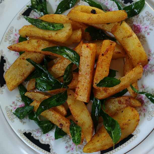 How to make South Indian Style french fry