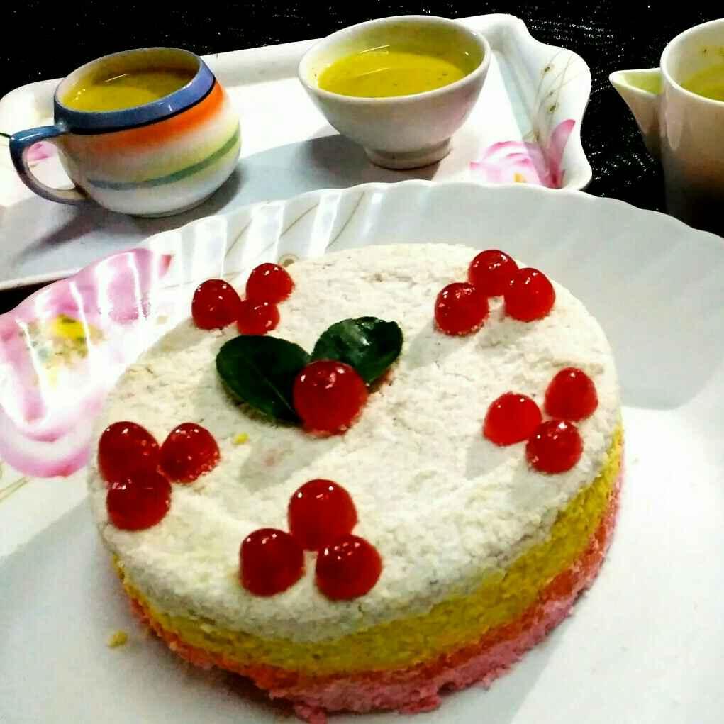 How to make Rainbow rice cake
