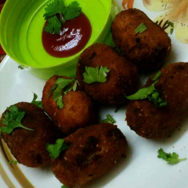 How to make Potato and beef cutlet