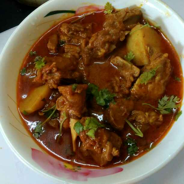 Photo of Spicy mutton curry by Rabia Hamnah at BetterButter