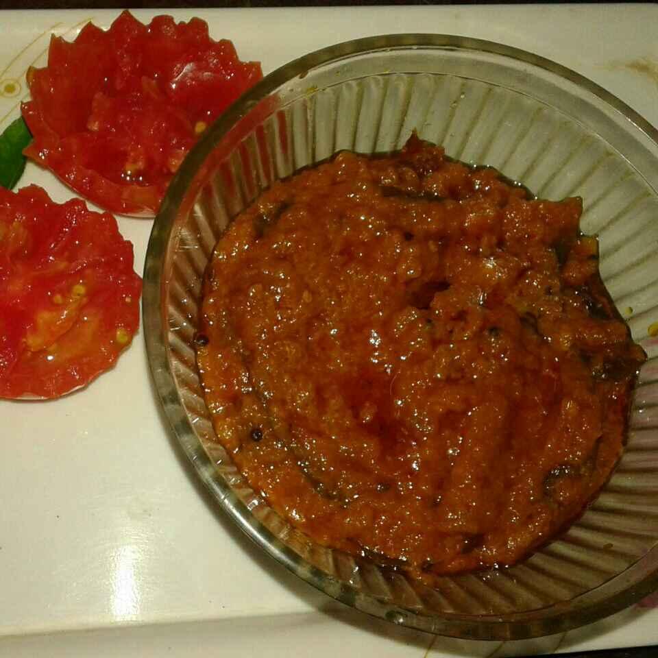 Photo of Tomato thokku by Rabia Hamnah at BetterButter