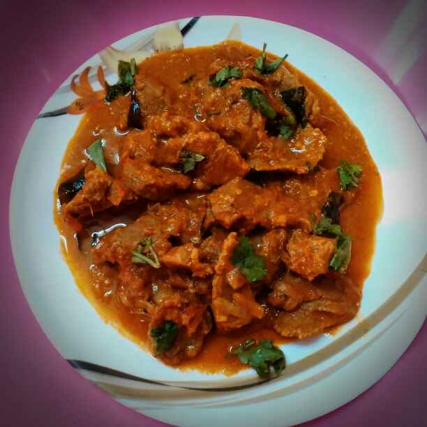 Photo of Andhra spicy mutton curry by Rabia Hamnah at BetterButter