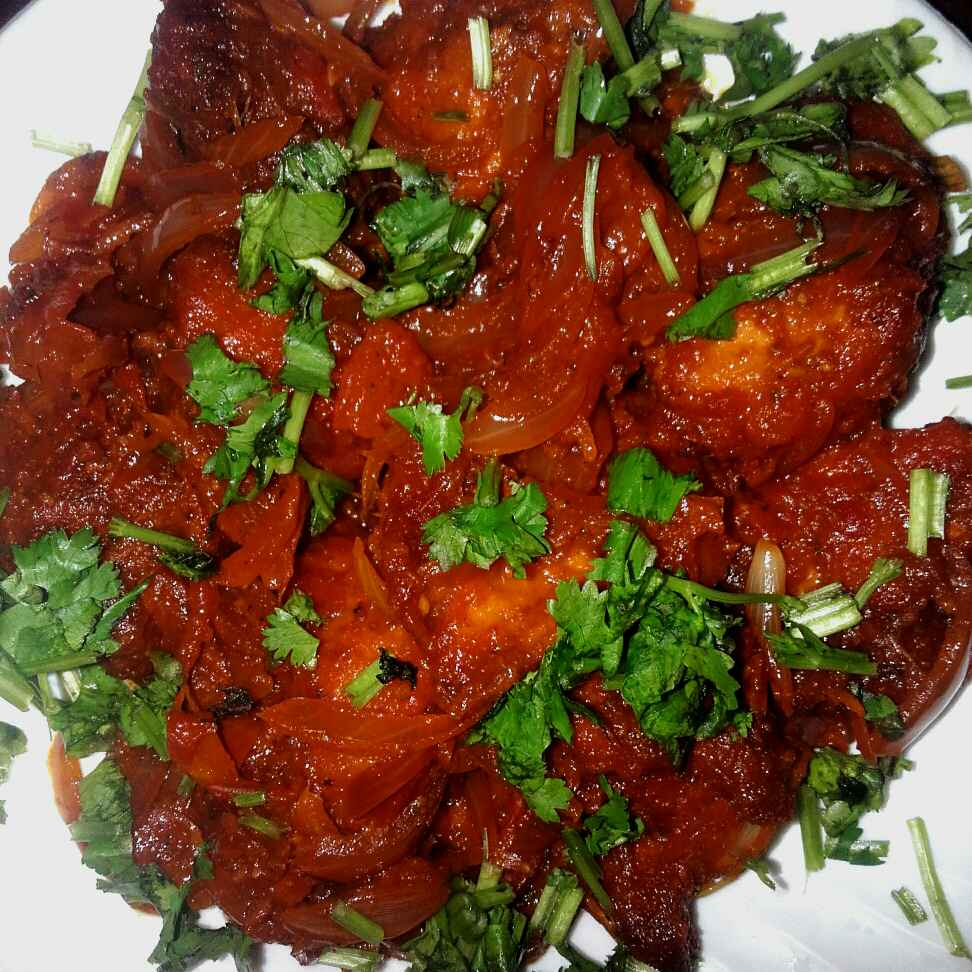 Photo of Bombay spicy tawa chicken by Rabia Hamnah at BetterButter