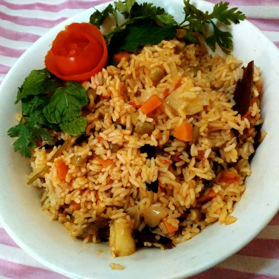 Photo of Chettinad veg biryani by Rabia Hamnah at BetterButter