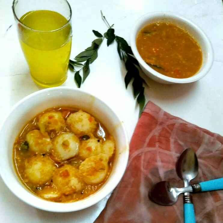 How to make Sambar idly