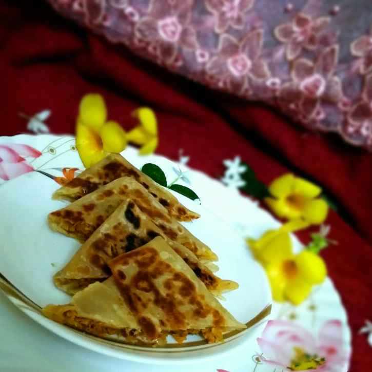 Photo of Mutton kheema murtabak by Rabia Hamnah at BetterButter