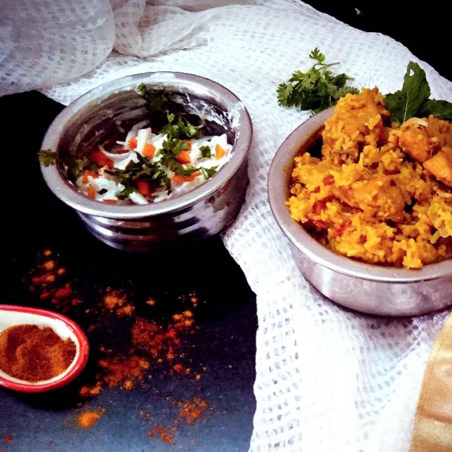 Photo of Chettinad chicken biryani by Rabia Hamnah at BetterButter