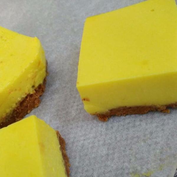 Photo of Lemon Bars with Almond Shortbread Crust by Rabiya Khalid at BetterButter