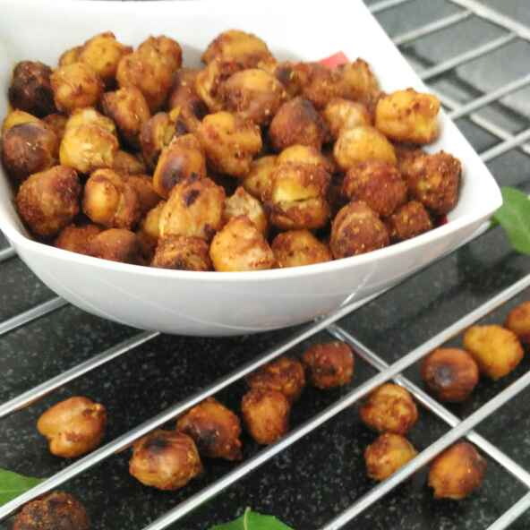 Photo of Minty and Garlicky Roasted Chickpeas by Rachana Bhatia at BetterButter