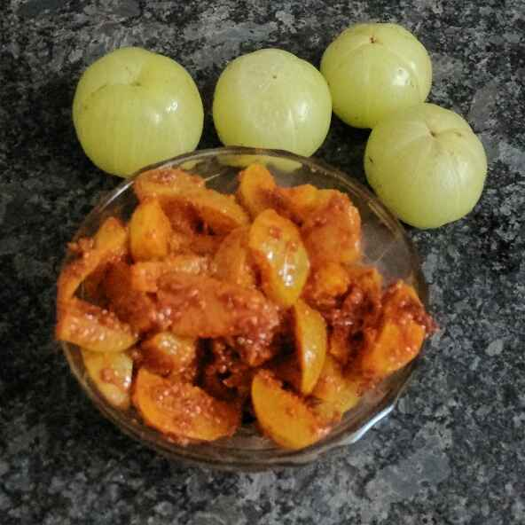 How to make Instant Amla Pickle