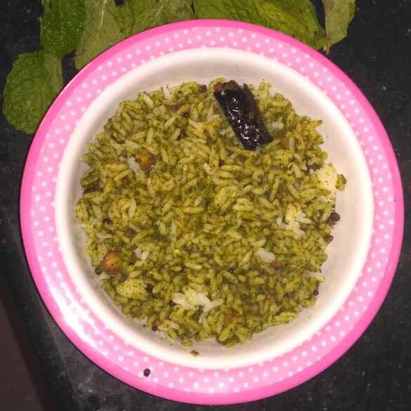 Photo of Mint Rice by Rachell Revathi Samuel at BetterButter