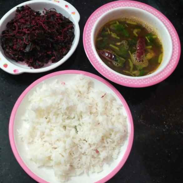 Photo of Rice Rasam spinach by Rachell Revathi Samuel at BetterButter