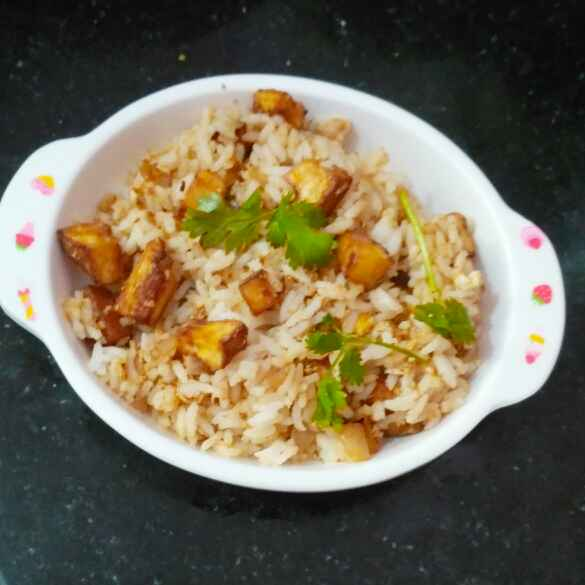 Photo of Plantain fried rice by Rachell Revathi Samuel at BetterButter