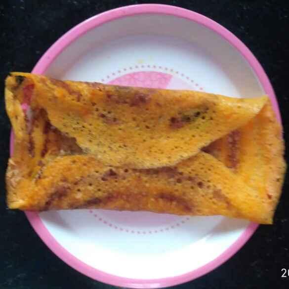 Photo of Carrot Masala Dosa by Rachell Revathi Samuel at BetterButter