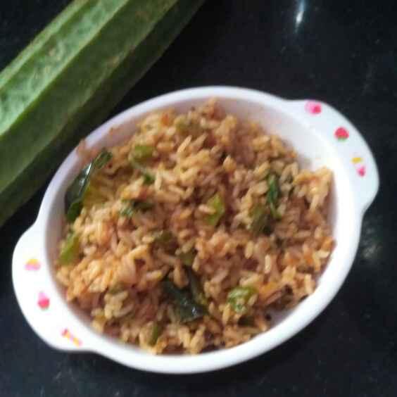 Photo of Ridge gourd fried rice by Rachell Revathi Samuel at BetterButter