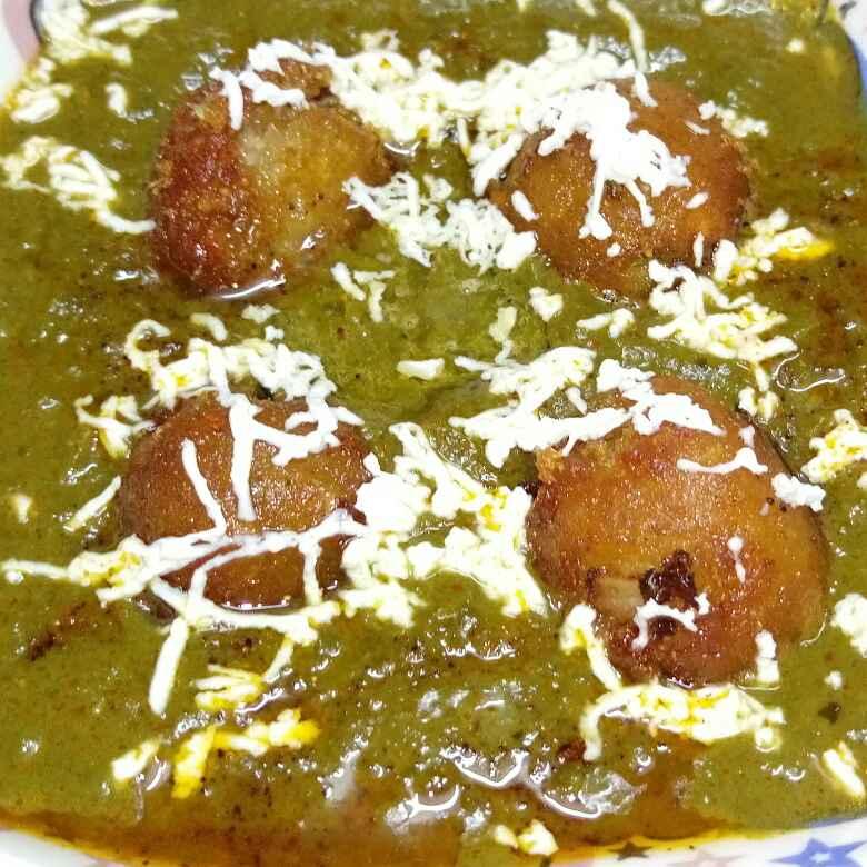 Photo of Palak kofta curry by RACHNA SEHDEV at BetterButter