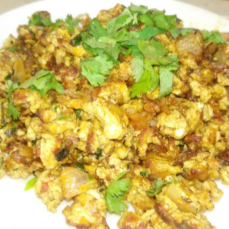 Photo of Spicy tomato egg bhurji by RACHNA SEHDEV at BetterButter
