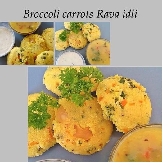Photo of Broccoli carrots rava idli by Radha Natarajan at BetterButter