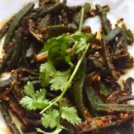 Photo of Okra stir fry (Ladies finger stir fry ) by Radha Natarajan at BetterButter