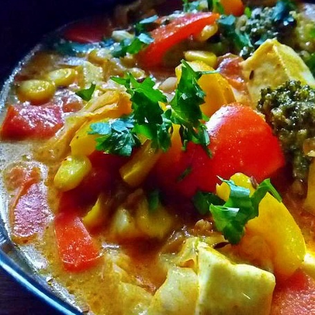 How to make Vegetarian Thai red curry