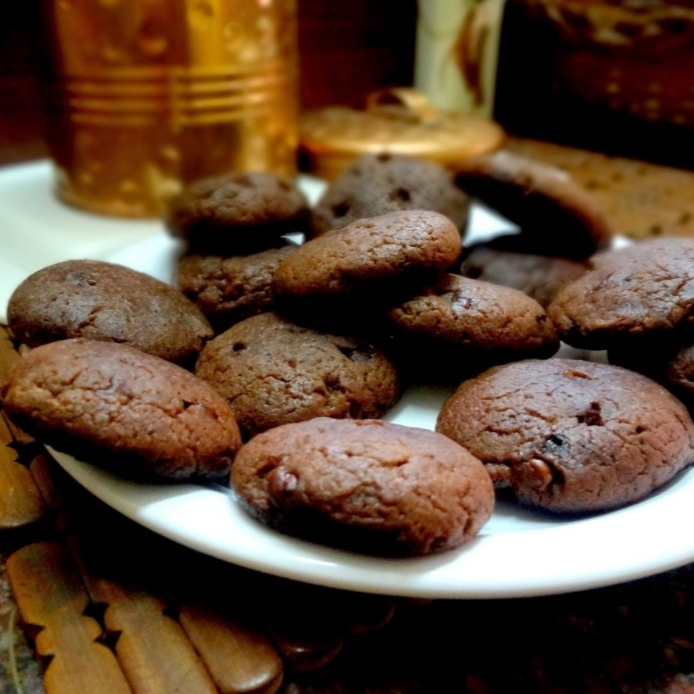 Photo of Chocolate chip cookies by Radha Natarajan at BetterButter