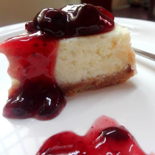 How to make Vanilla blueberries cheesecake