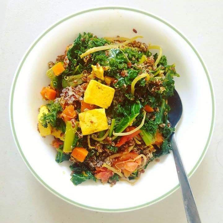 How to make Kale Quinoa salad