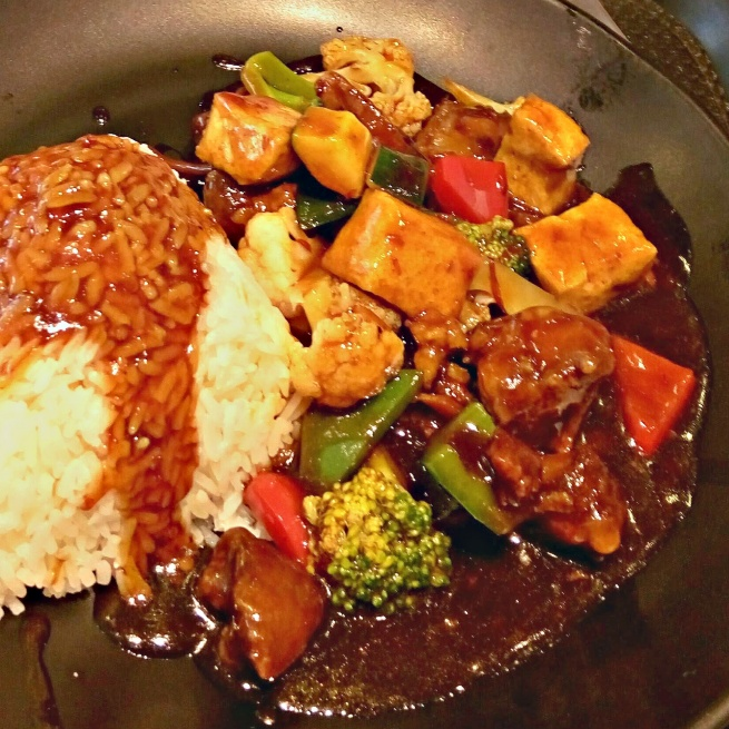 How to make Braised Tofu, with mixed vegetables in garlic sauce ( Korean veg )