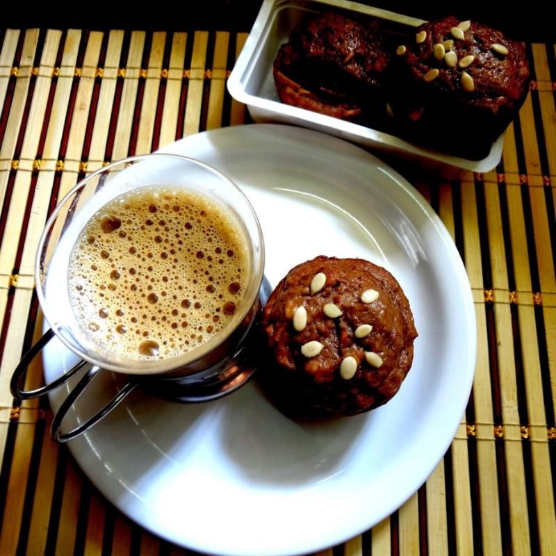 Photo of Banana bran, seeds, and nuts muffin by Radha Natarajan at BetterButter