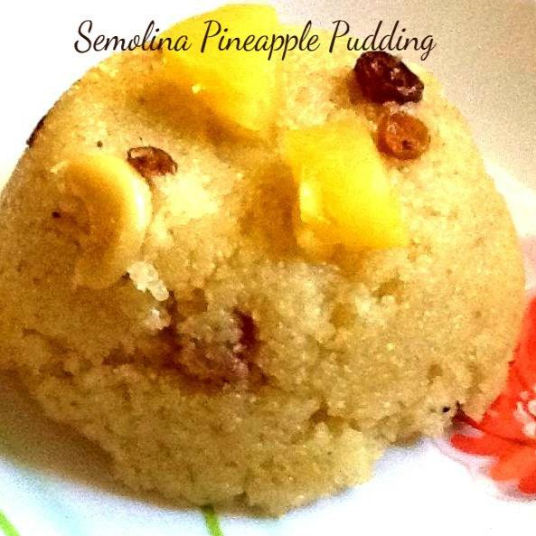 How to make Pineapple kesari  ( Pineapple pudding )