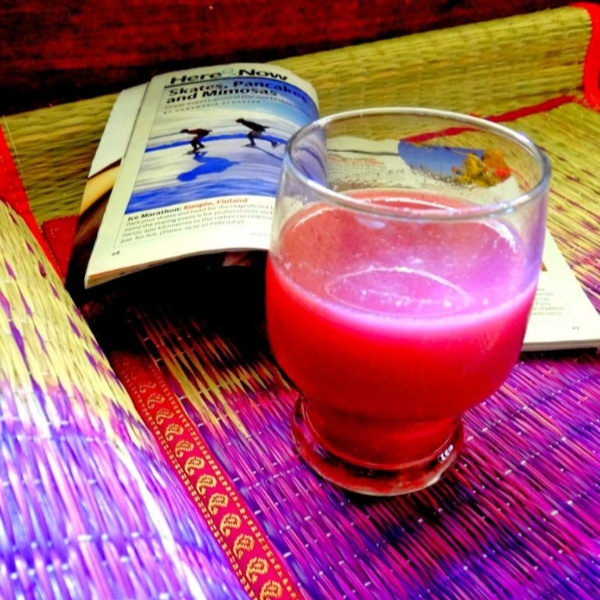 How to make Beetroot Pomegranate juice