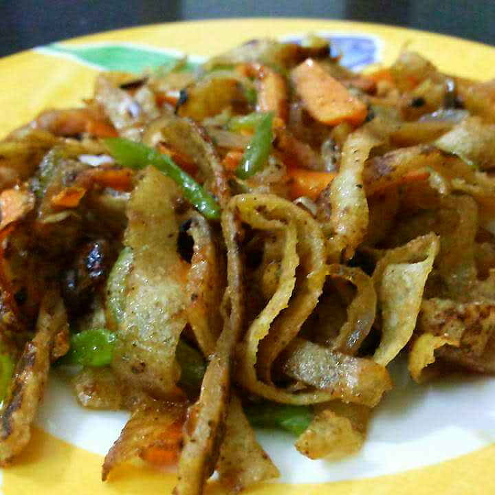 How to make Chapati noodles