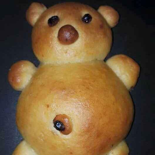 Photo of Eggless stuffed teddy buns by Radhika Chhabra at BetterButter