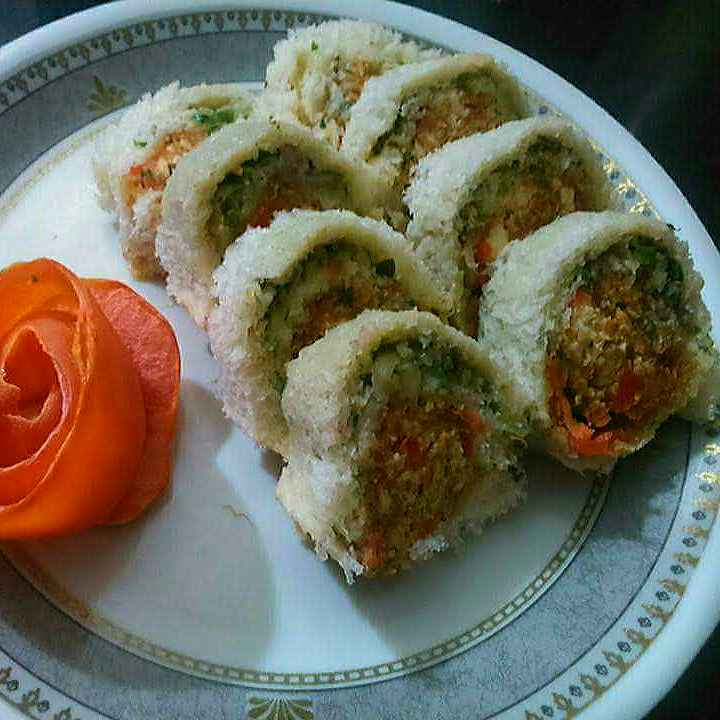 Photo of Healthy Pinwheel Sandwiches by Radhika Chhabra at BetterButter