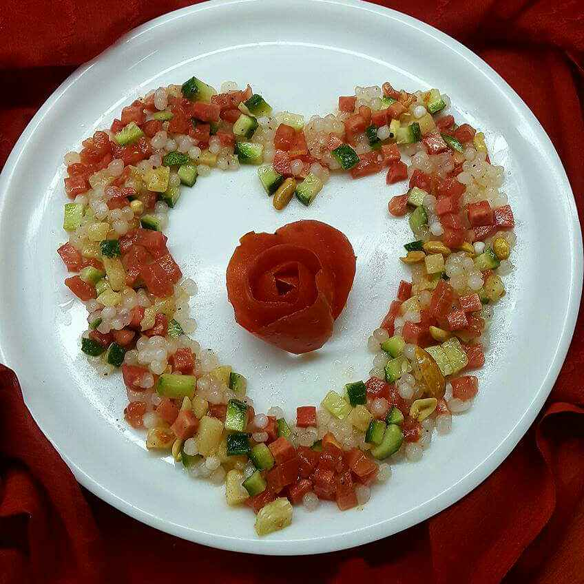 How to make PEARL SALAD
