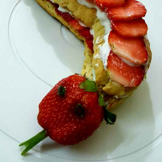 Photo of Strawberry Shortcake Snake by Radhika Chhabra at BetterButter