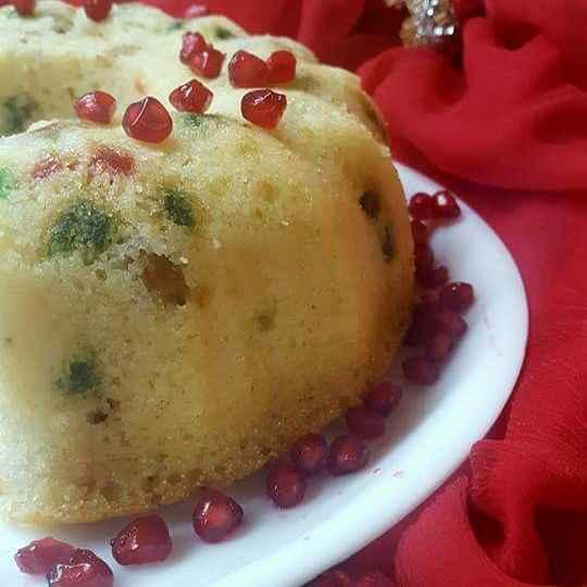 Photo of Eggless semolina cake by Radhika Chhabra at BetterButter